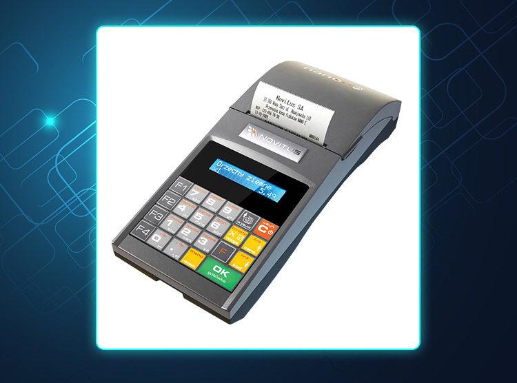 Novitus Nano E - kasa fiskalna z elektroniczną kopią paragonów